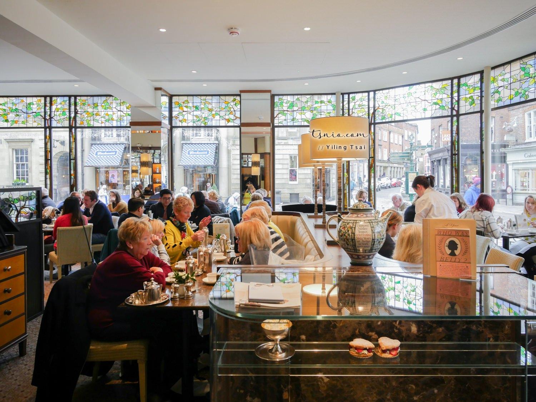 英國約克美食推薦 Bettys Café Tea Rooms 熱門英式下午茶餐廳