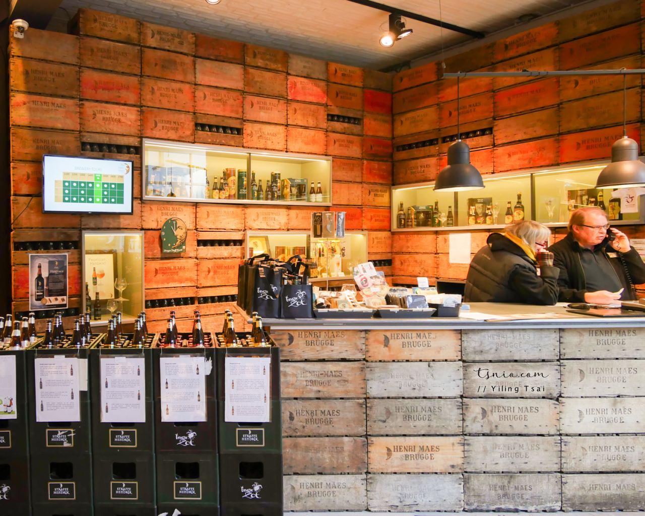比利時布魯日景點 Brouwerij De Halve Maan 半月啤酒廠