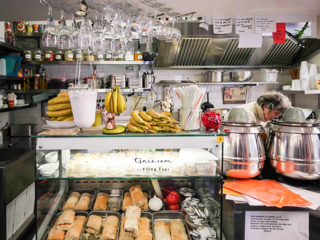 比利時布魯日美食推薦 Soup 平價濃湯帕尼尼