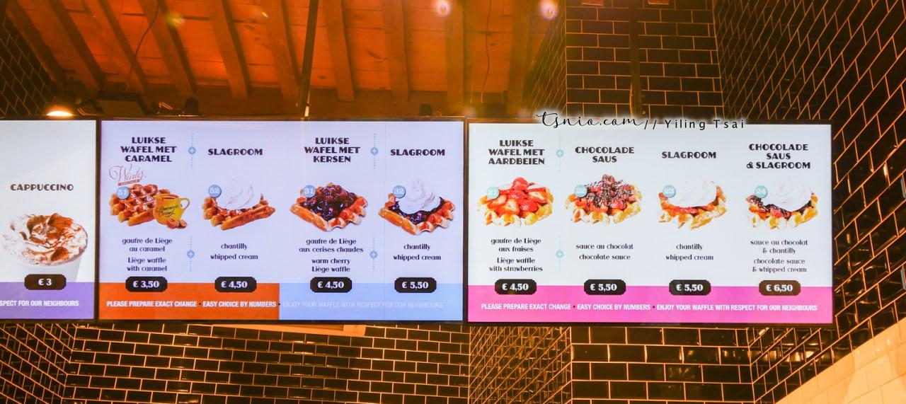 比利時布魯日美食推薦 Chez Albert 心目中最好吃的比利時鬆餅