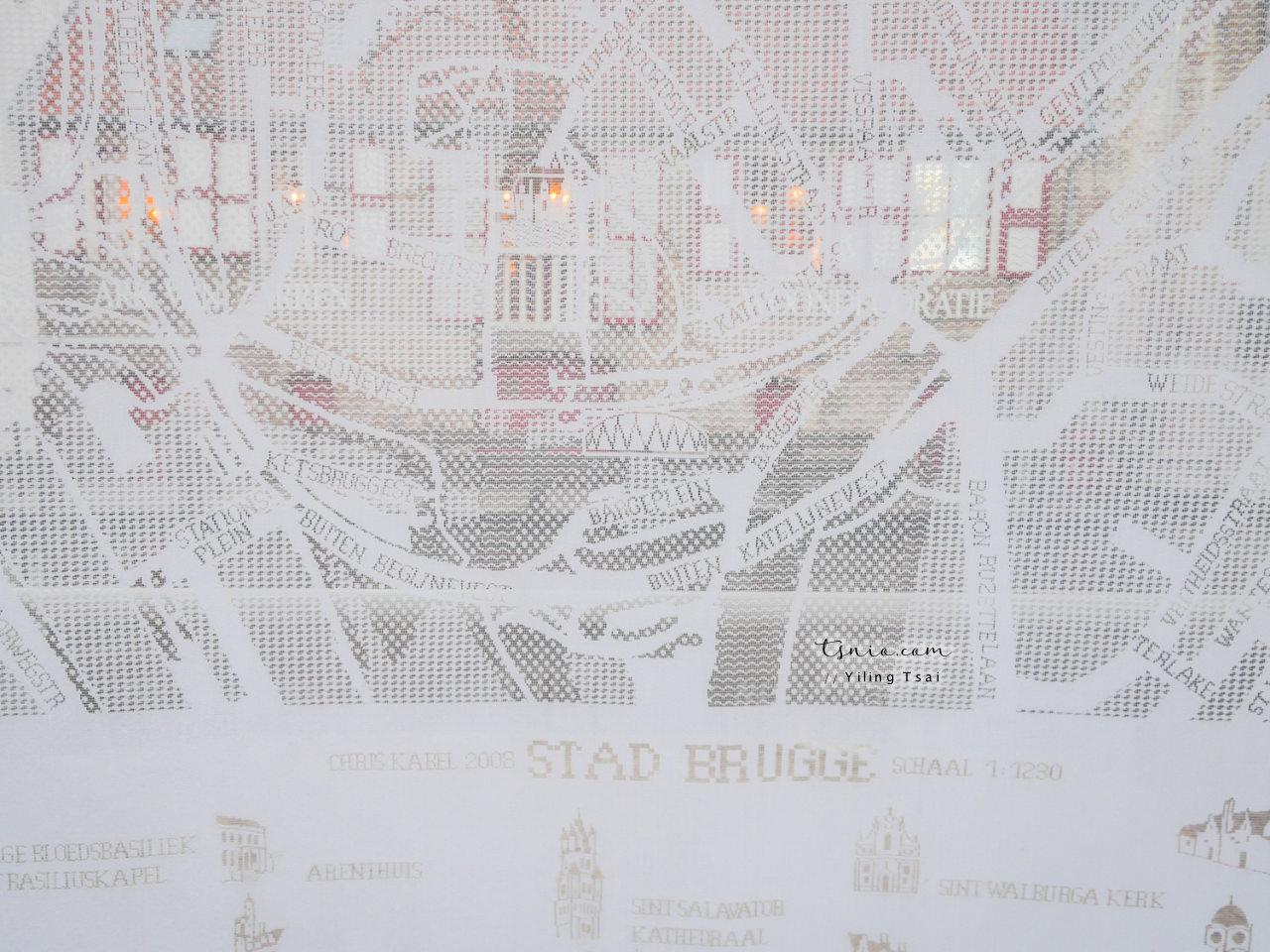比利時布魯日景點總整理 布魯日散步地圖