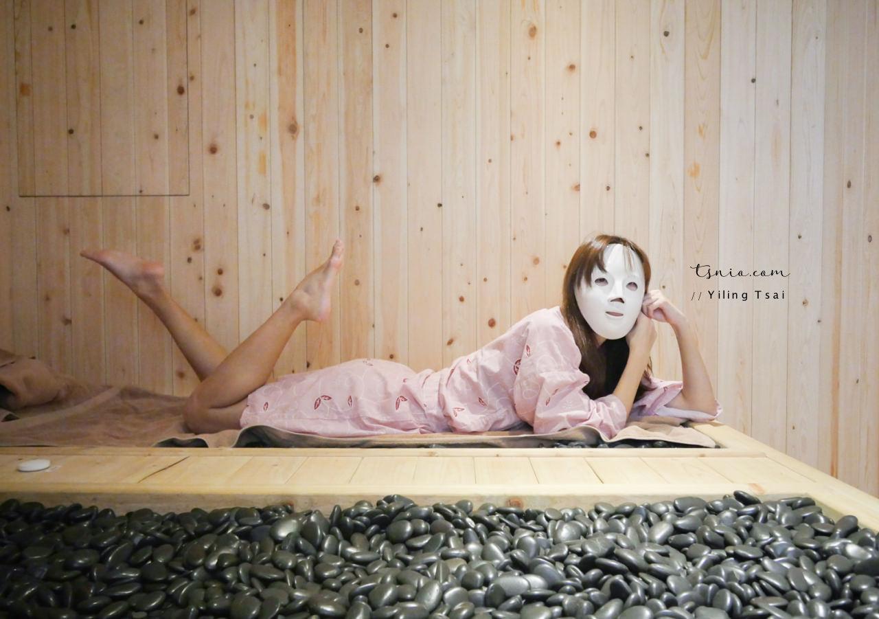 台北市政府站 湯美岩岩盤浴 天然礦石乾式溫泉