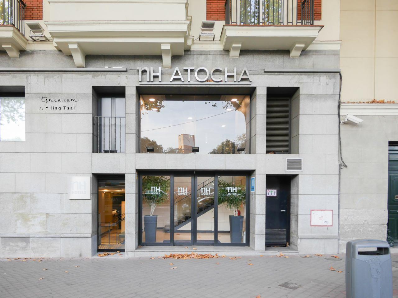 西班牙馬德里住宿推薦 NH Madrid Atocha Hotel 車站附近連鎖三星飯店
