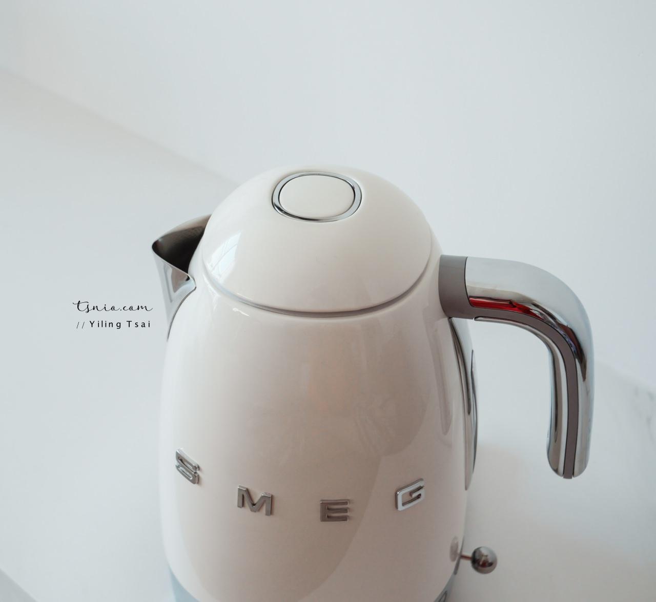 SMEG 義大利復古控溫式電熱水壺 居家夢幻逸品