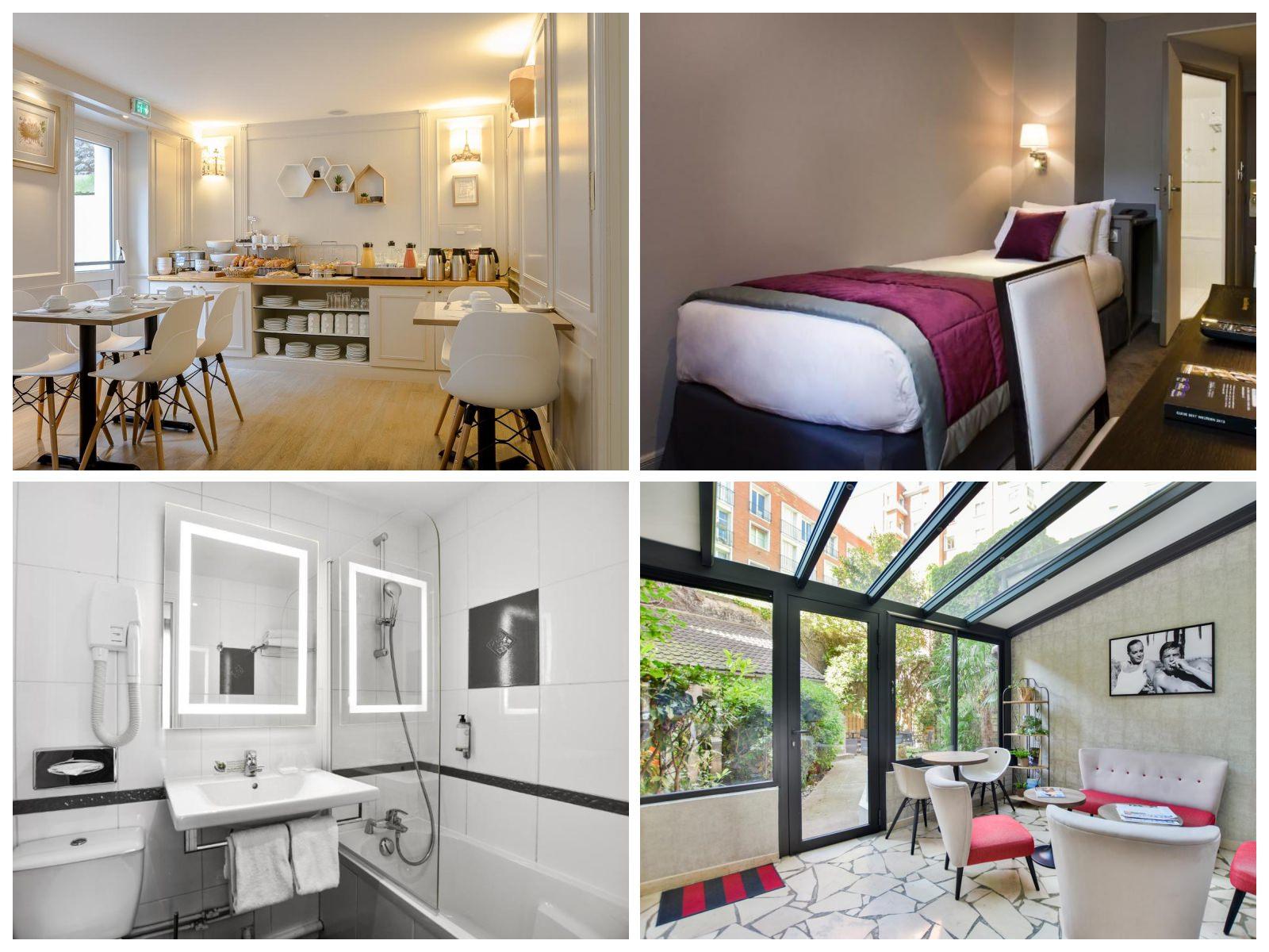 巴黎住宿推薦 適合一個人旅行的平價單人房巴黎飯店