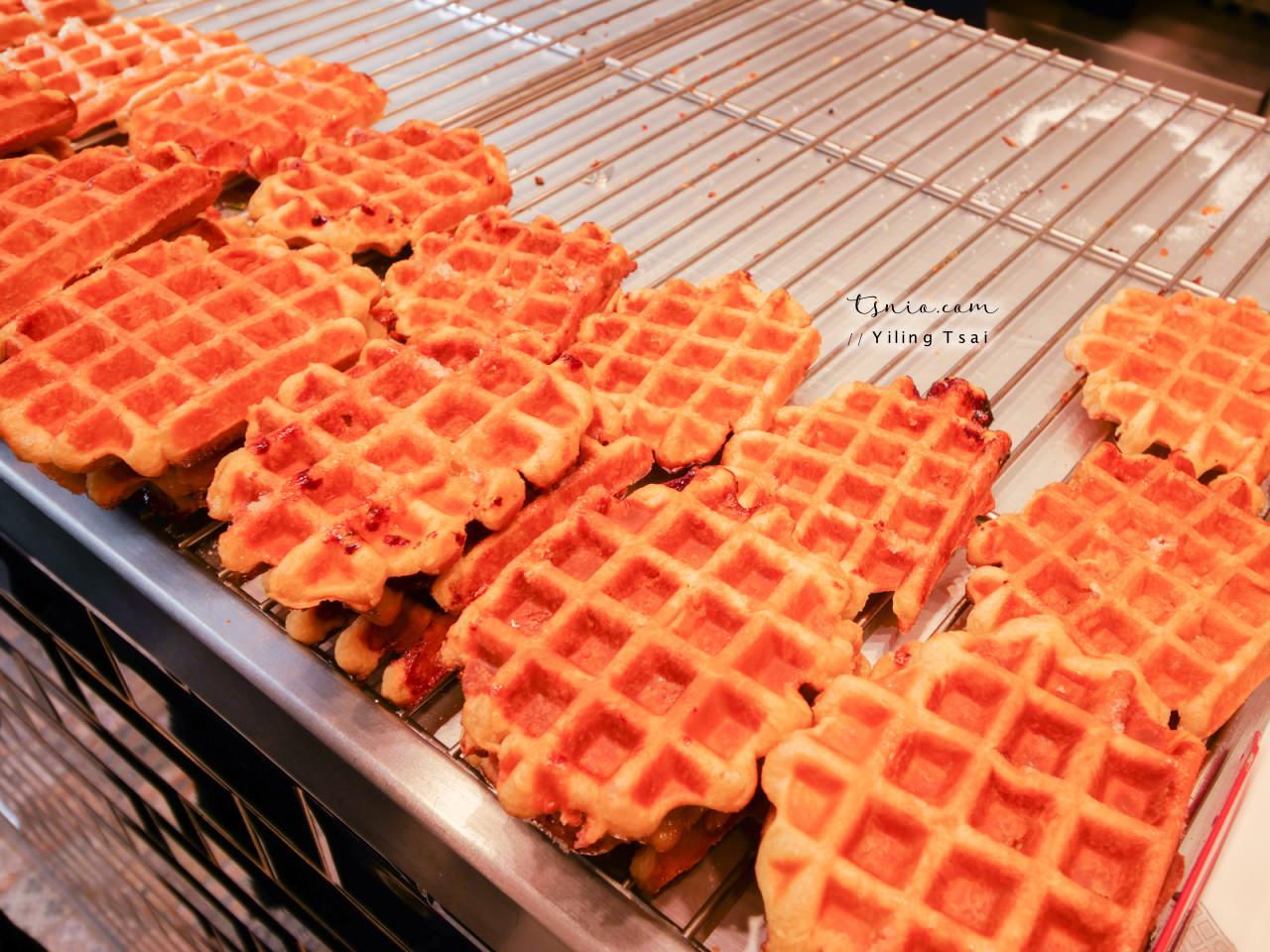 比利時布魯塞爾美食 Le Funambule 尿尿小童旁鬆餅小店