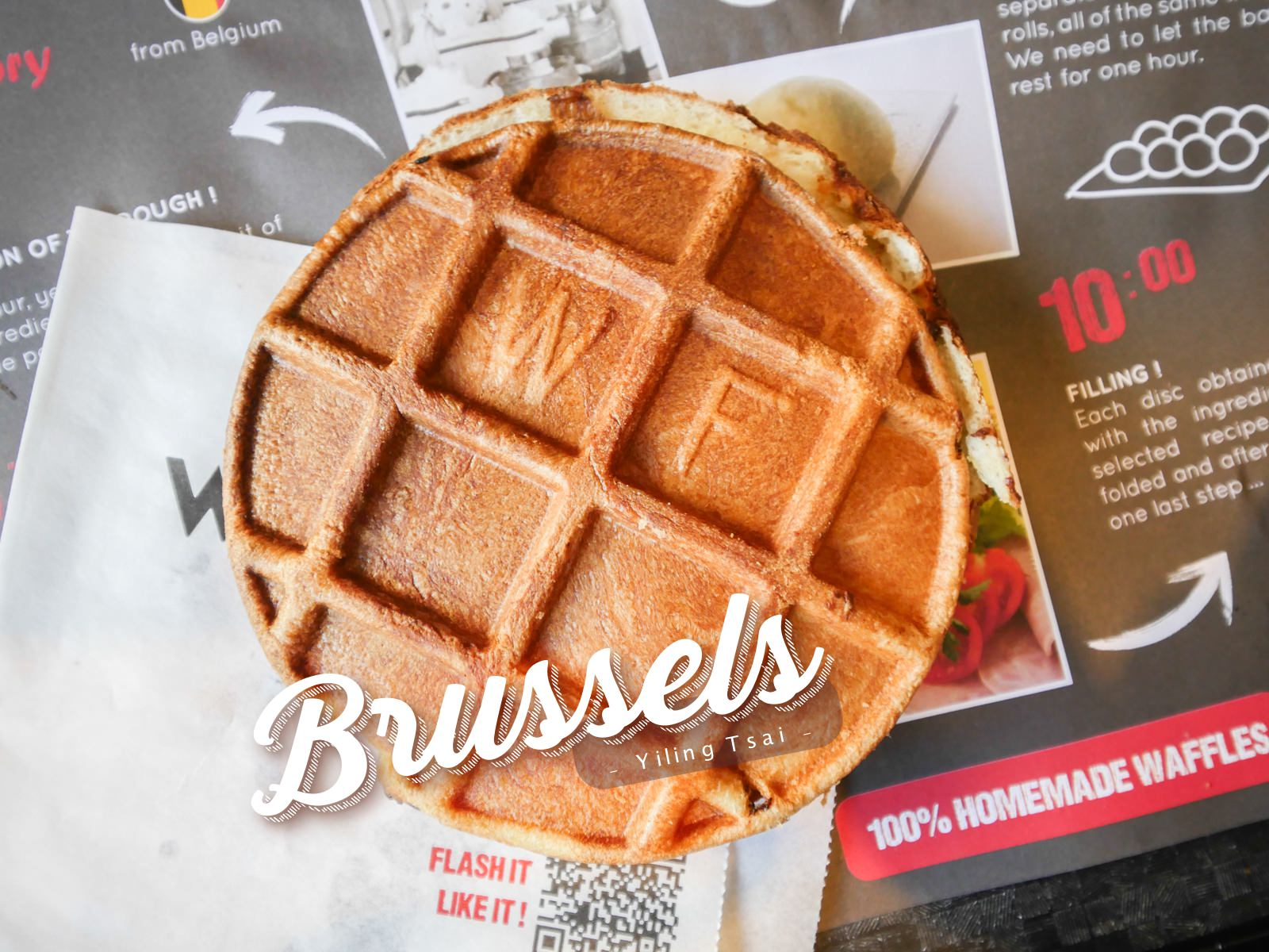 比利時鬆餅推薦 Waffle Factory 布魯塞爾美食