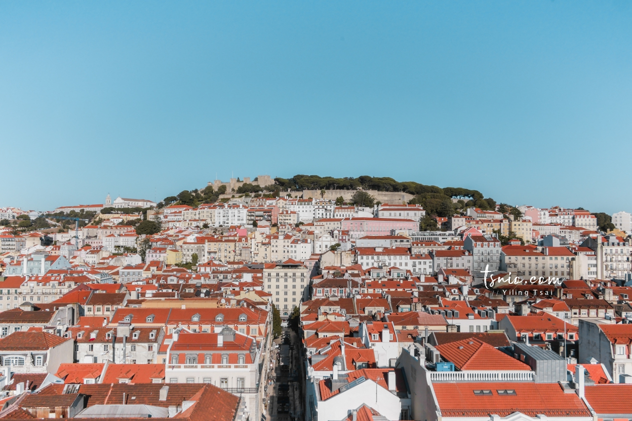 葡萄牙里斯本景點 聖胡斯塔升降梯 Elevador de Santa Justa 百年古蹟電梯