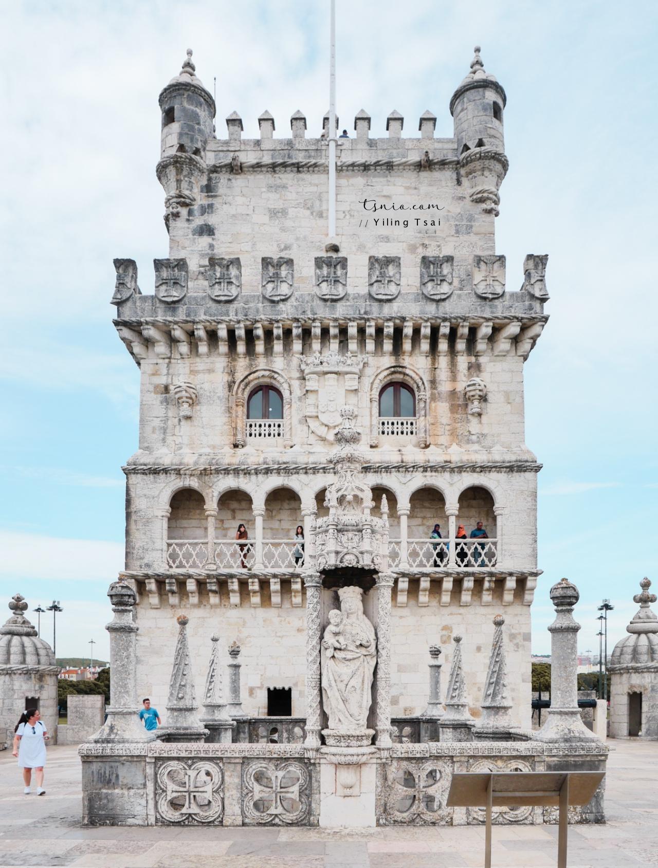 葡萄牙里斯本景點 貝倫塔  Torre de Belém 大航海時代防禦塔