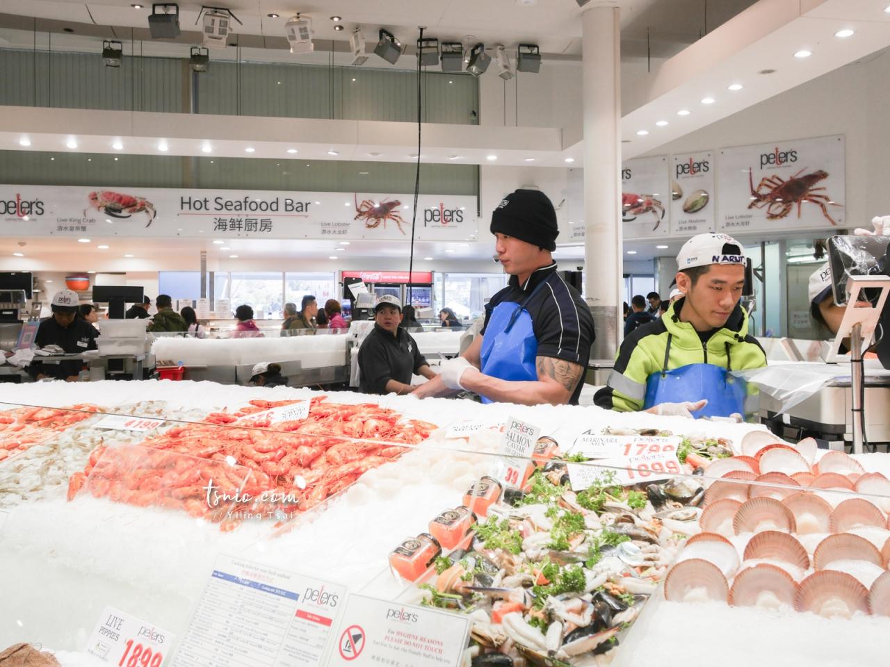 澳洲雪梨景點 Sydney Fish Market 雪梨魚市場 新鮮海產美味生蠔