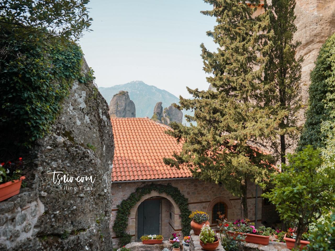 希臘梅特歐拉修道院 Holy Monastery of Rousanou 魯莎努修道院
