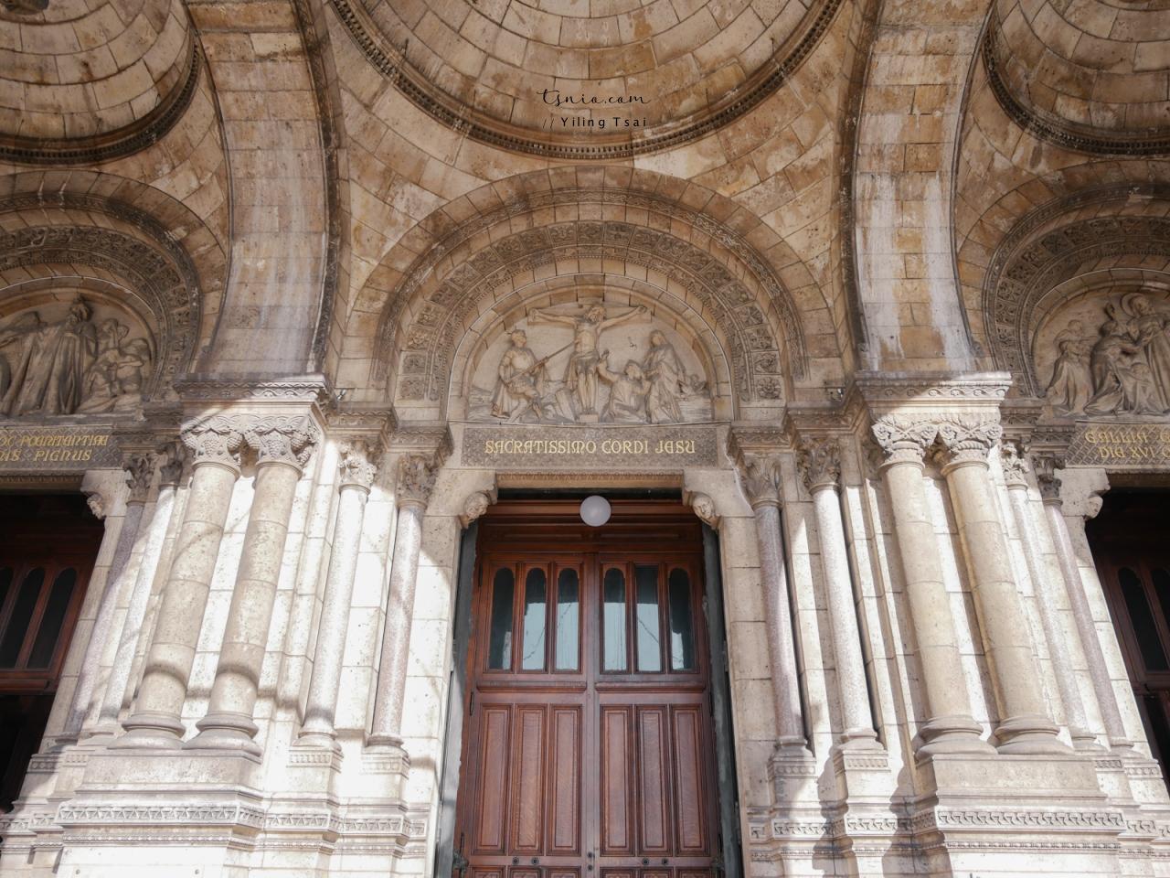 法國巴黎景點 聖心堂 Sacré-Cœur 蒙馬特地標純白教堂