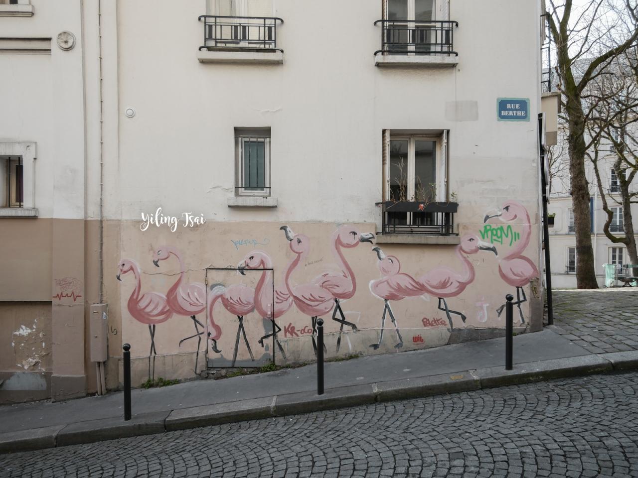 法國巴黎蒙馬特攻略 景點推薦交通方式美食分享 蒙馬特散步地圖
