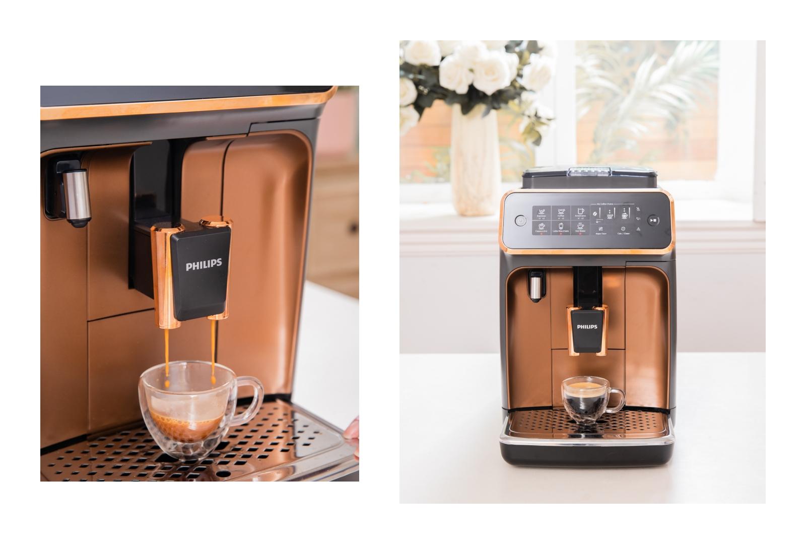 飛利浦全自動義式咖啡機 LatteGo EP3246 無管線雲朵拿鐵咖啡機 一鍵享受綿密奶泡咖啡