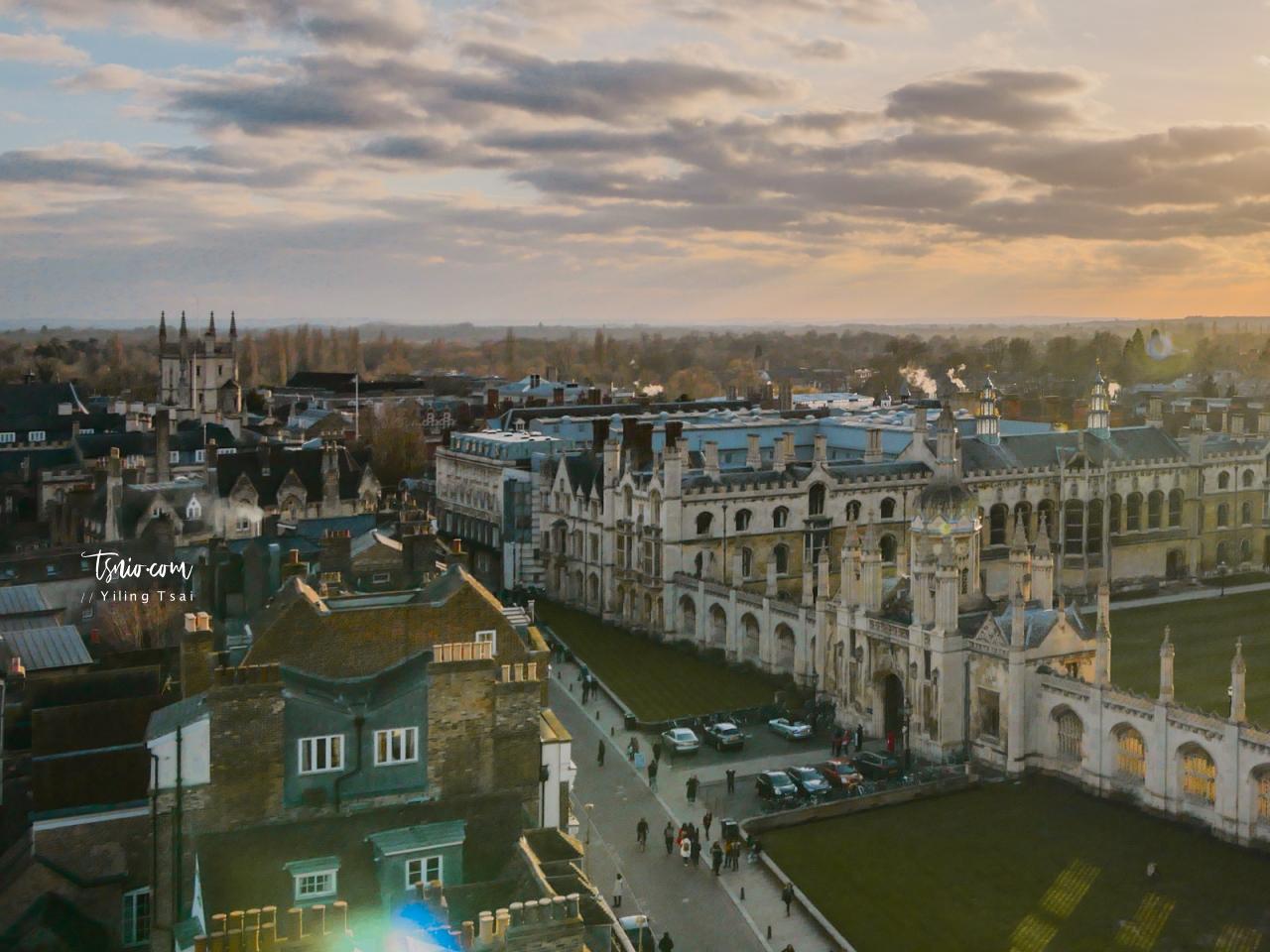 英國劍橋景點 Great St Mary's Church  聖瑪麗大教堂 眺望劍橋市景最棒視野