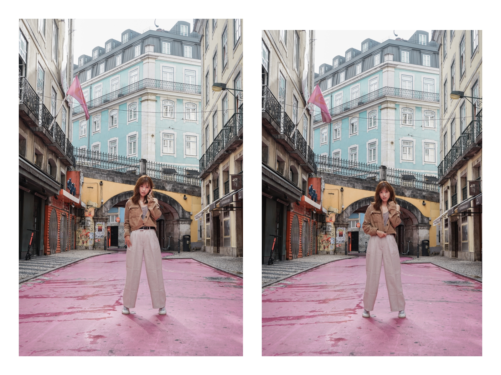 葡萄牙里斯本景點  Rua Cor de Rosa 粉紅街 熱鬧夜生活