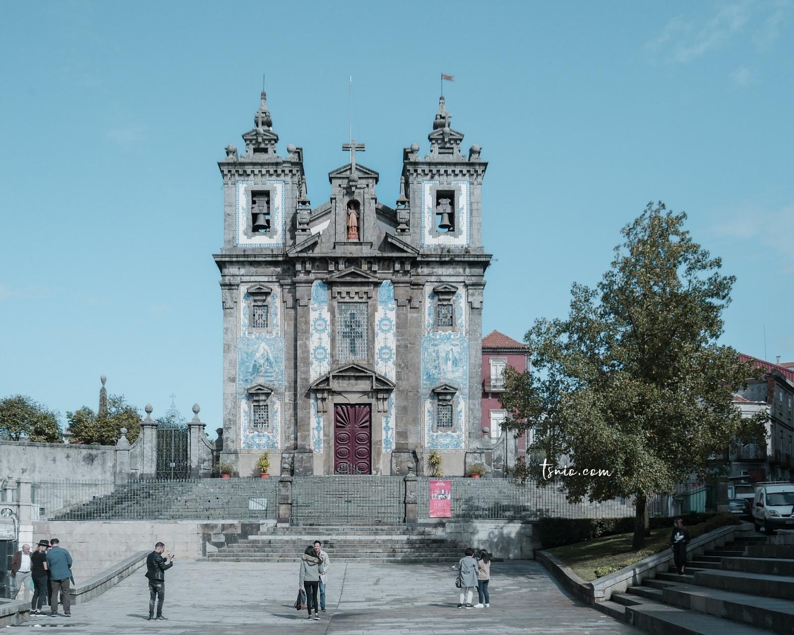 葡萄牙波多景點 Igreja de Santo Ildefonso 藍白瓷磚教堂