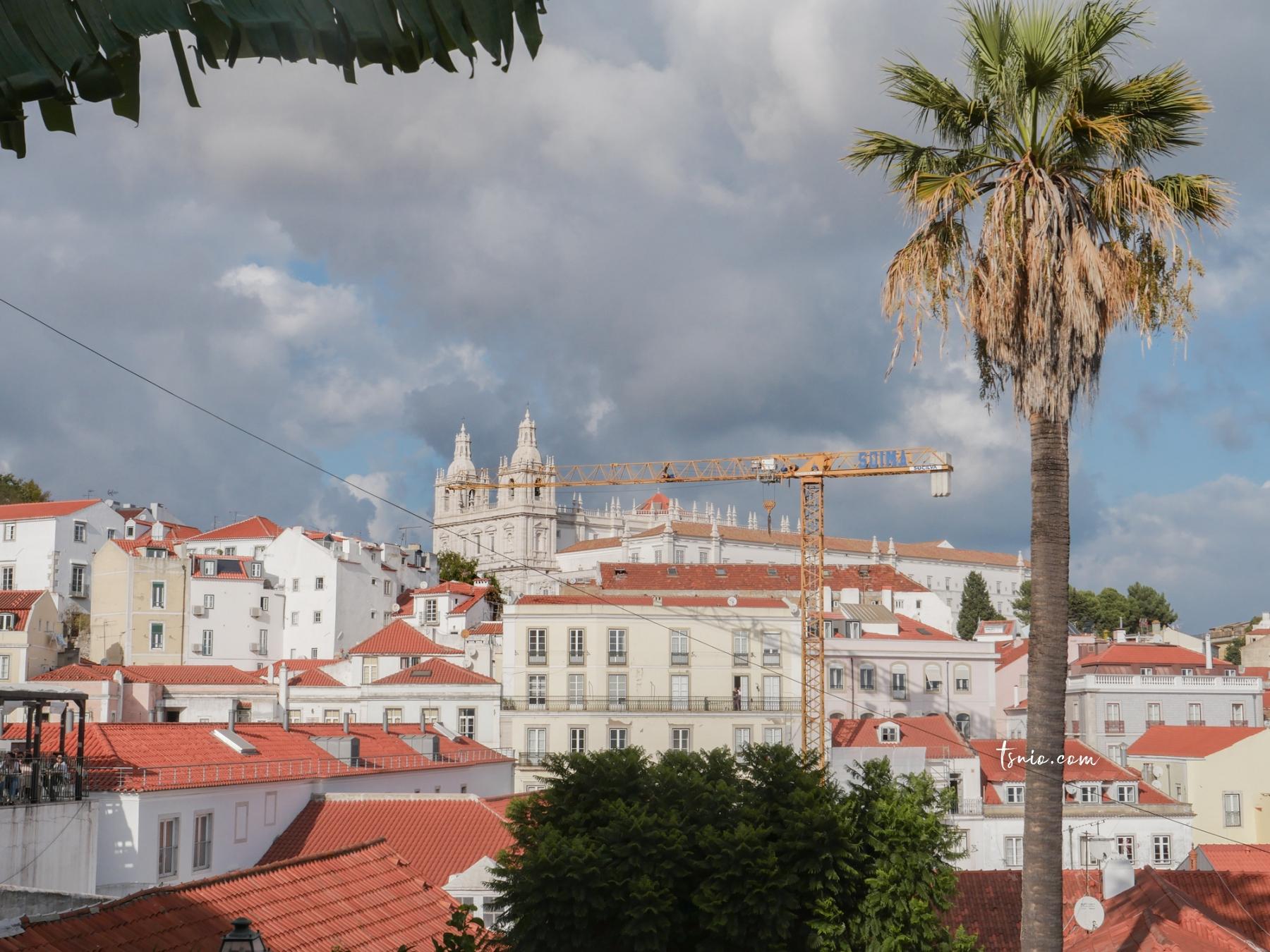 葡萄牙里斯本景點 太陽門廣場、太陽門觀景台、歷史漫畫牆