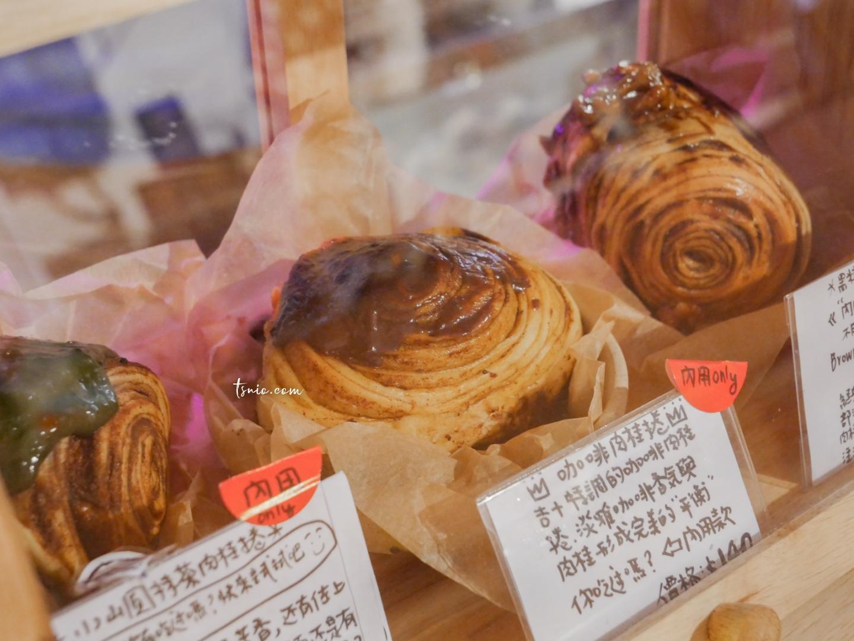 新竹美食 吉十咖啡 多種口味蝸牛肉桂捲 無法抗拒的迷人誘惑