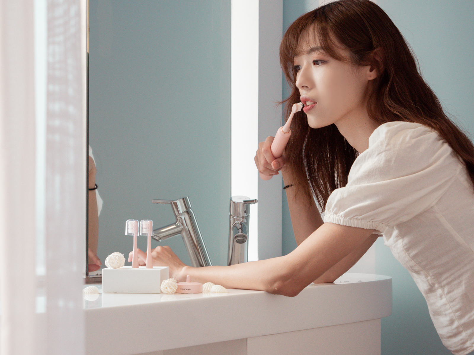 TESCOM 音波電動牙刷 TB1TW 最值得入手的第一支電動牙刷