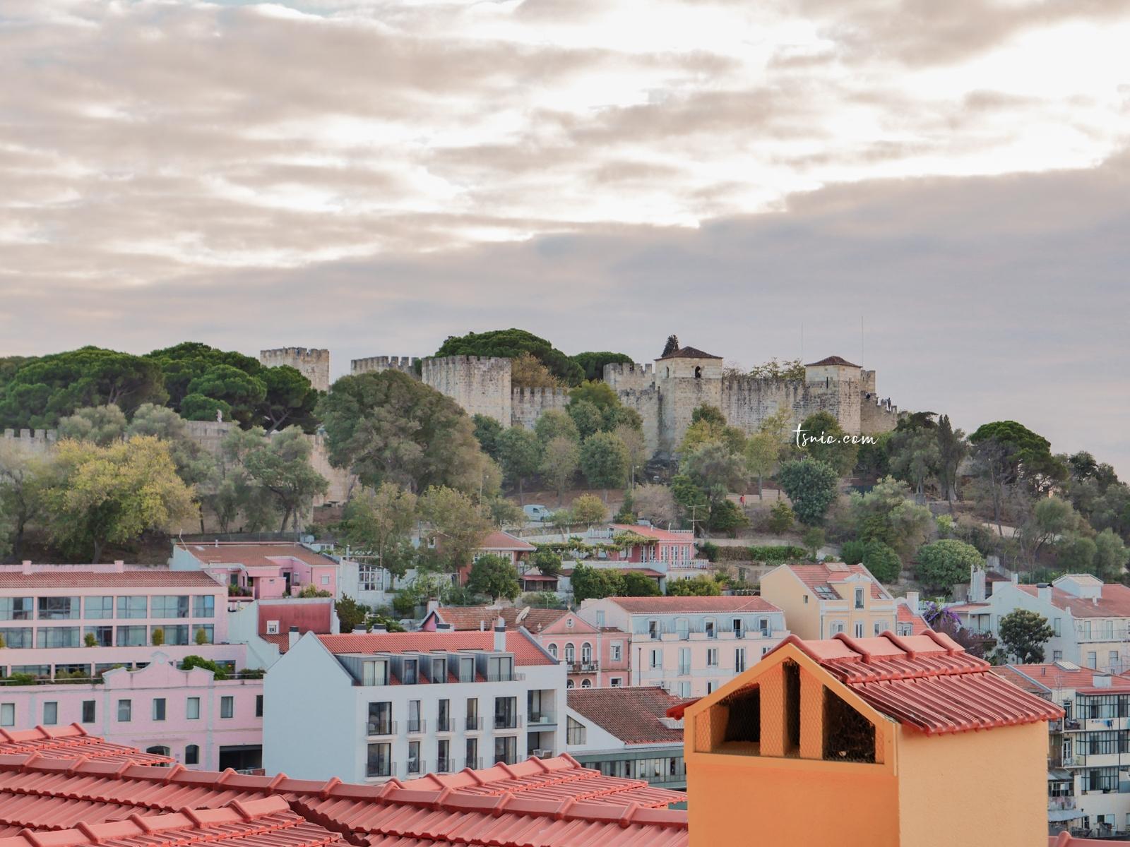 葡萄牙里斯本景點 恩寵觀景台 眺望壯觀里斯本美景