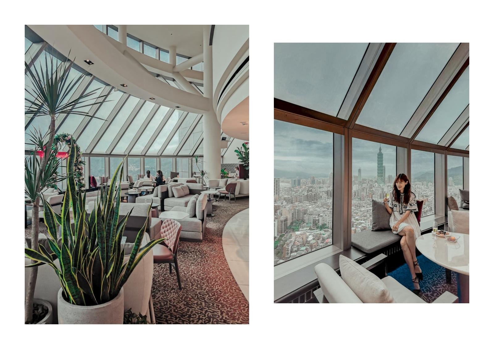 香格里拉台北遠東國際大飯店 米其林推薦五星酒店 101 景觀 貼心服務