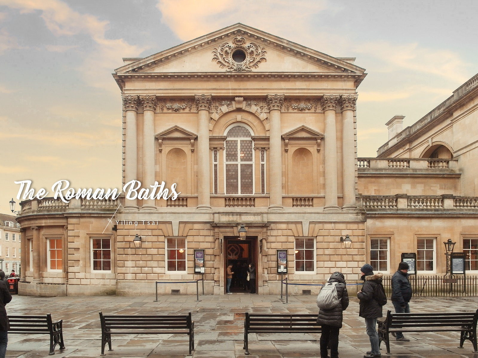 英國巴斯景點 羅馬浴場 The Roman Baths 中世紀露天溫泉