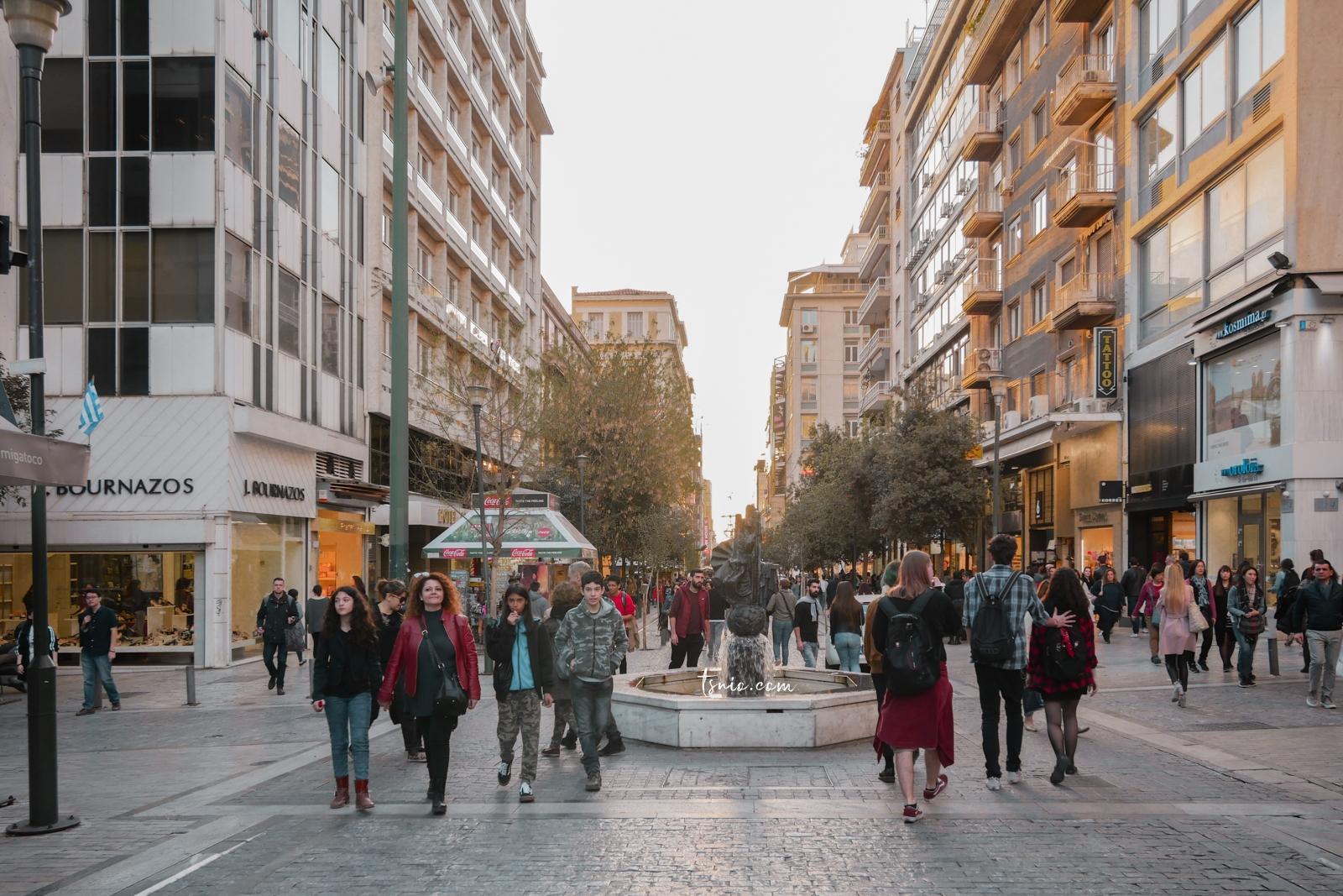 希臘雅典自由行攻略 交通、景點、美食、住宿、購物總整理