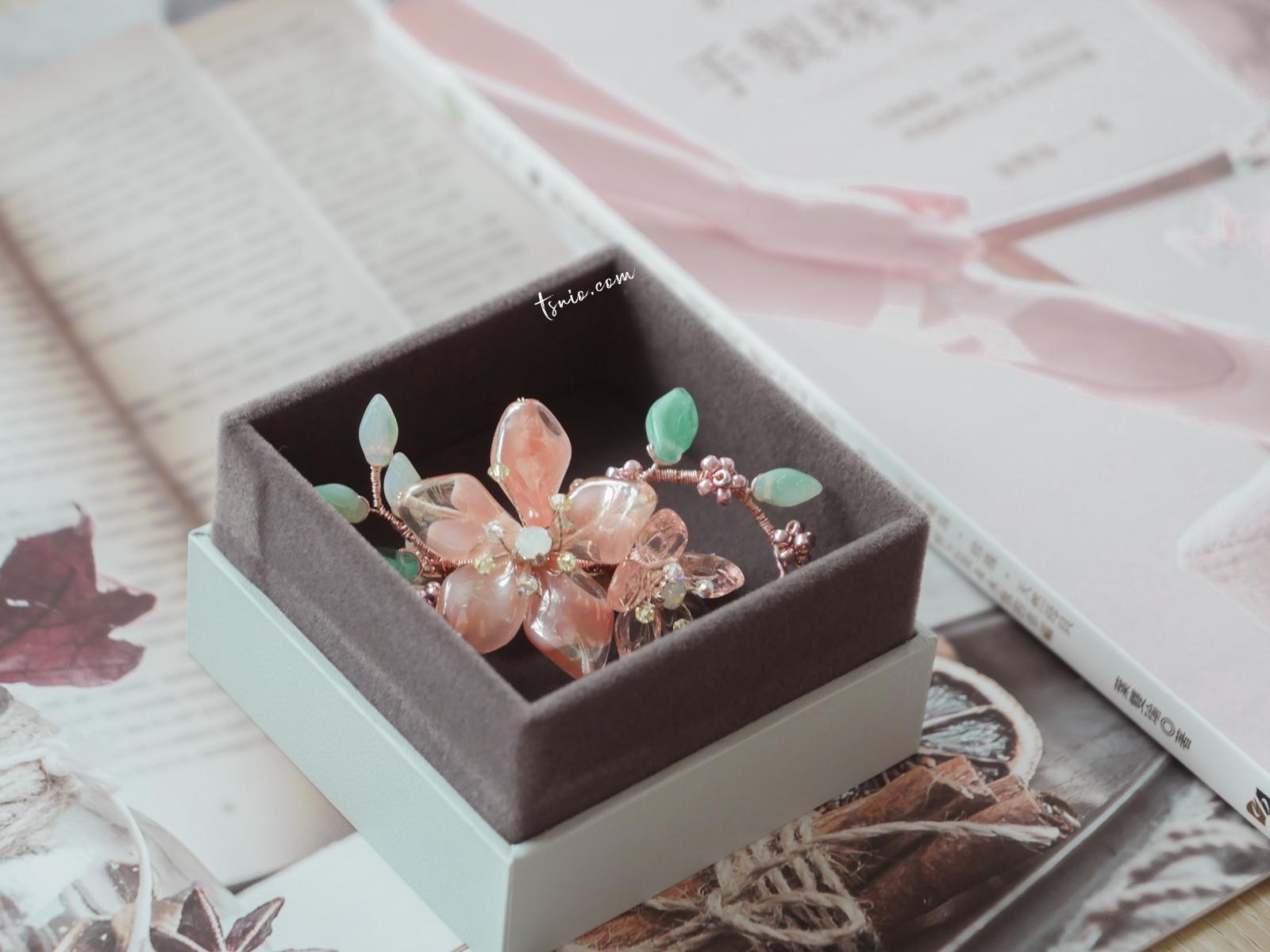 花寓 YU Florist 獨特手作珠寶花藝 櫻花精靈線上課程分享
