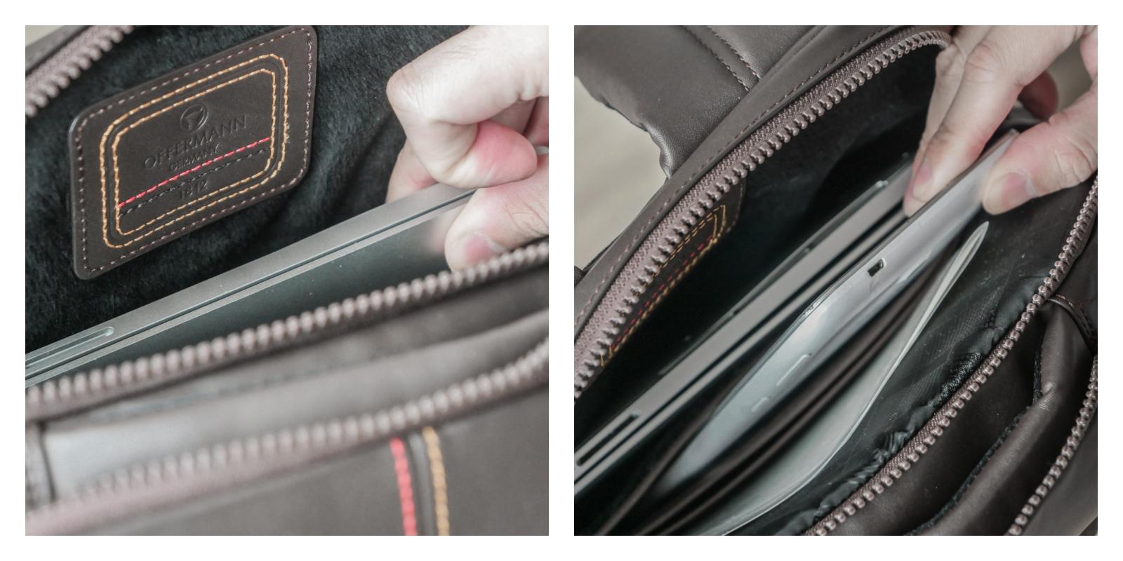 OFFERMANN 德國百年工藝頂級歐洲皮革 Force 商務休閒後背包