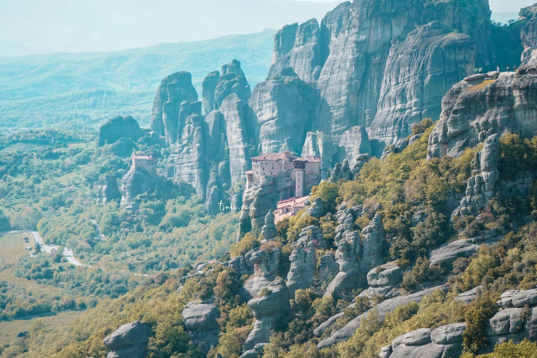 希臘梅特歐拉自由行攻略 卡蘭巴卡交通、住宿、美食總整理