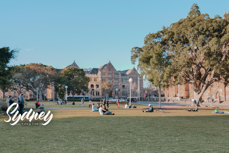 澳洲雪梨景點 海德公園 Hyde Park 澳洲歷史最古老公園