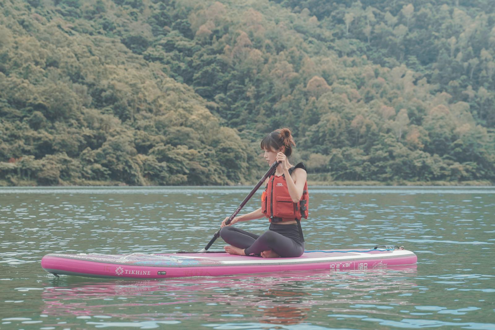好野人 花蓮鯉魚潭 SUP 立槳、清水斷崖獨木舟體驗