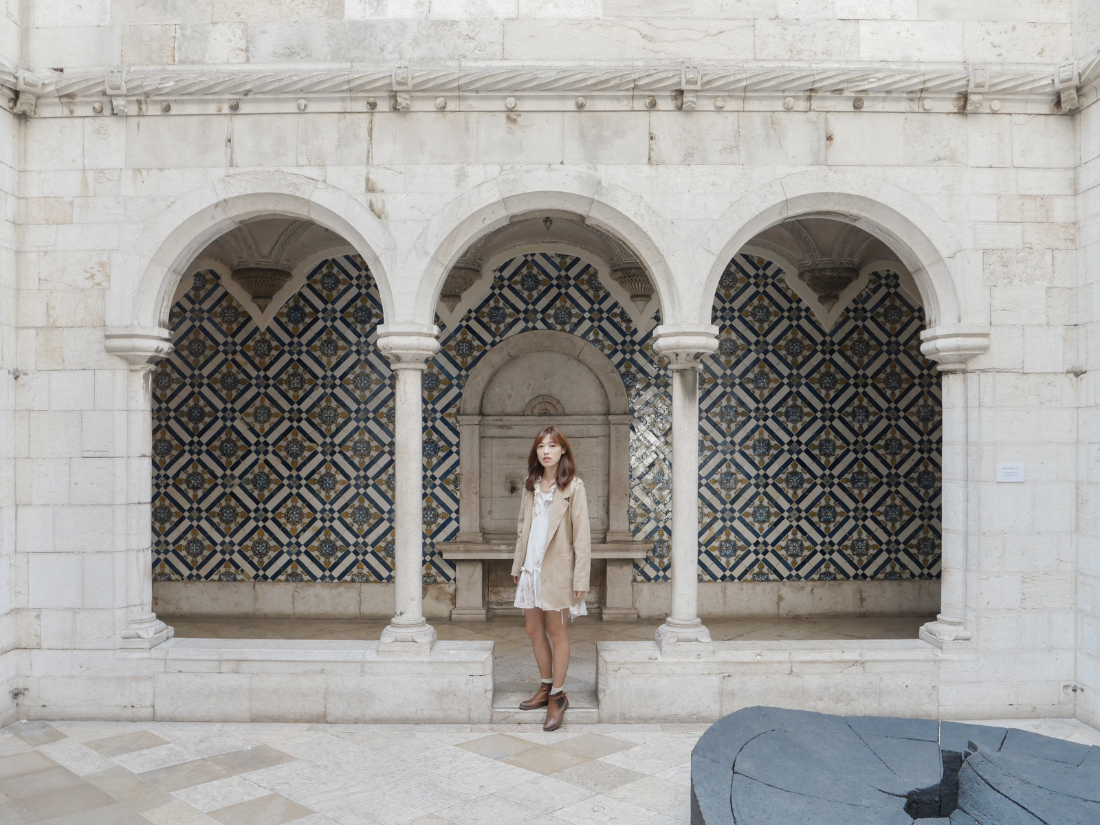 葡萄牙里斯本景點 Museu Nacional do Azulejo 磁磚博物館 葡萄牙花磚饗宴