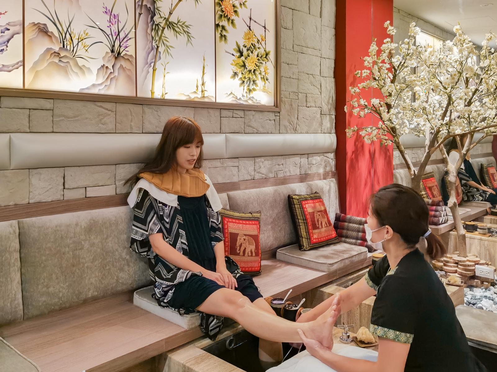 台北按摩推薦 梅庭苑頂級舒壓 SPA 會館 泰式按摩、芳療油壓、孕婦舒壓