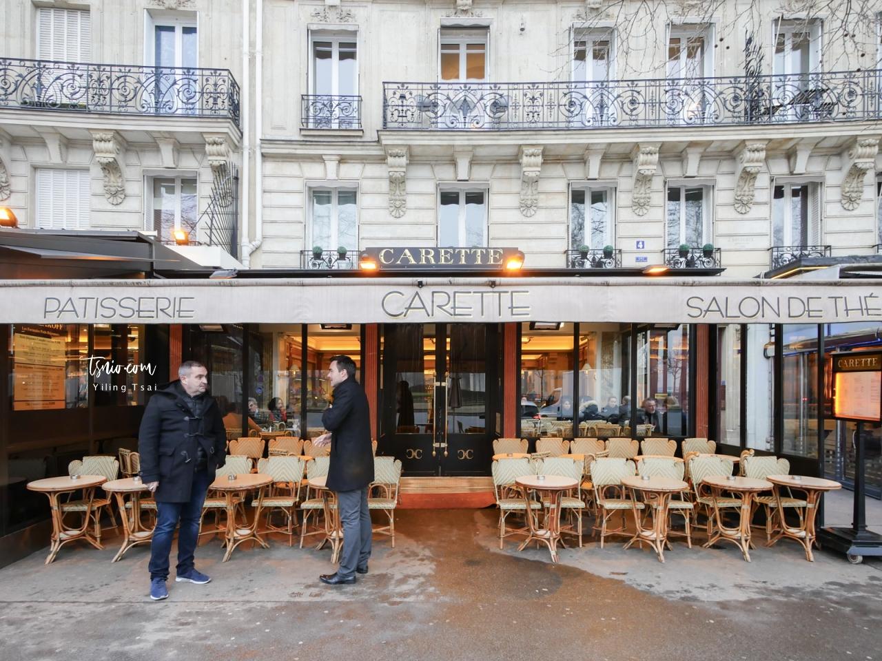 法國巴黎甜點推薦 Carette Paris 老字號巴黎人甜點沙龍