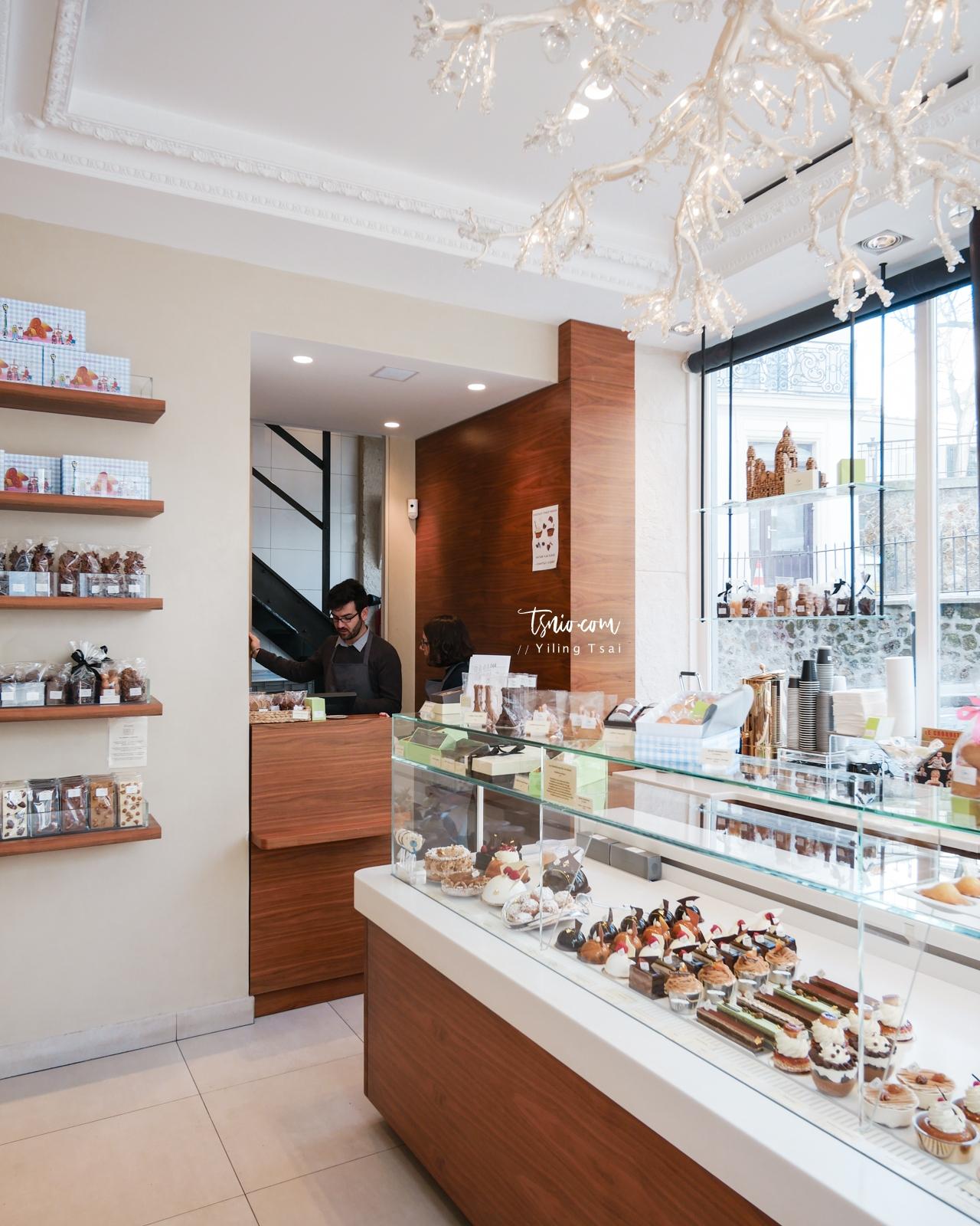 法國巴黎甜點推薦 Pâtisserie Gilles Marchal 蒙馬特可愛瑪德蓮甜點店