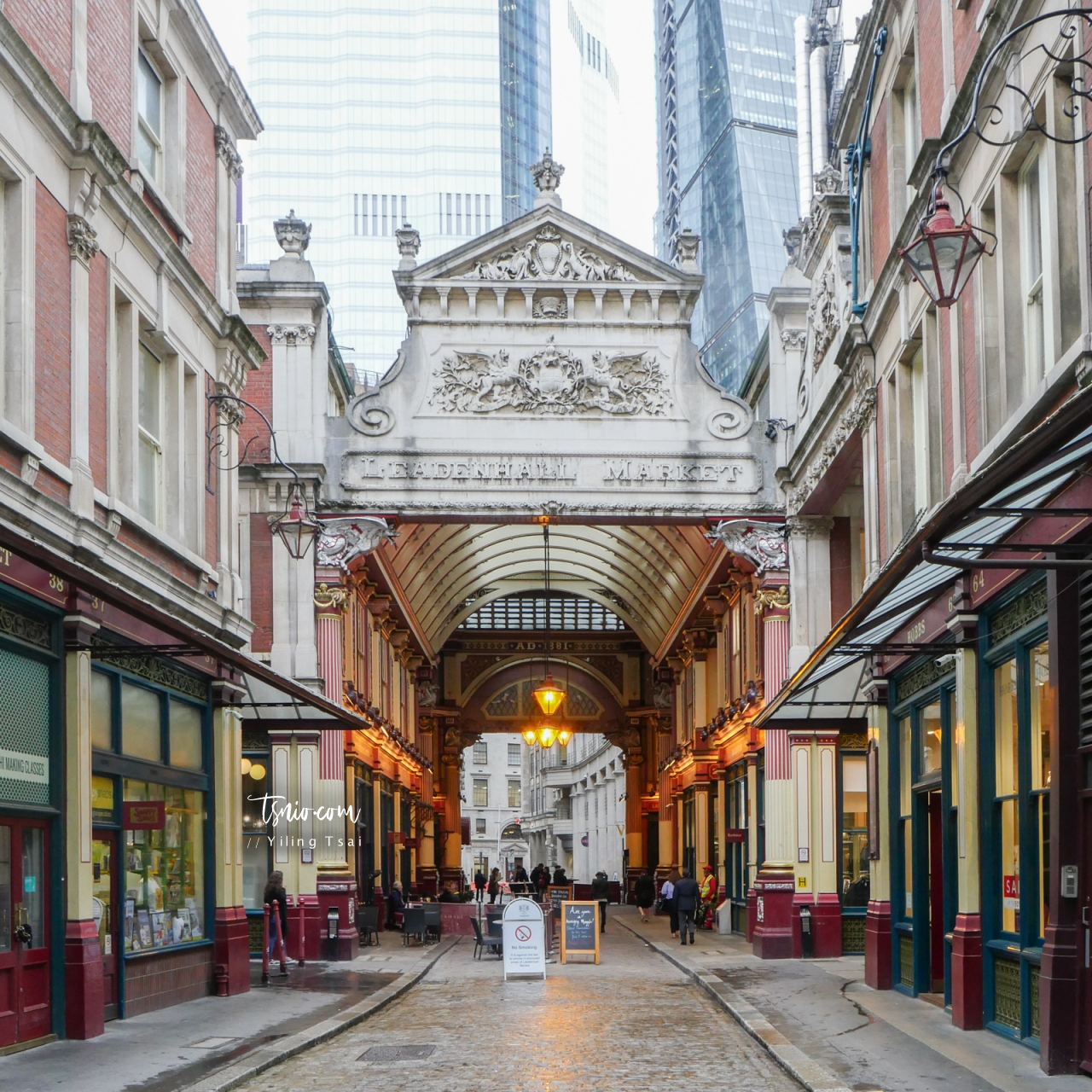英國倫敦景點 Leadenhall Market 利德賀市場 華麗古典維多利亞建築