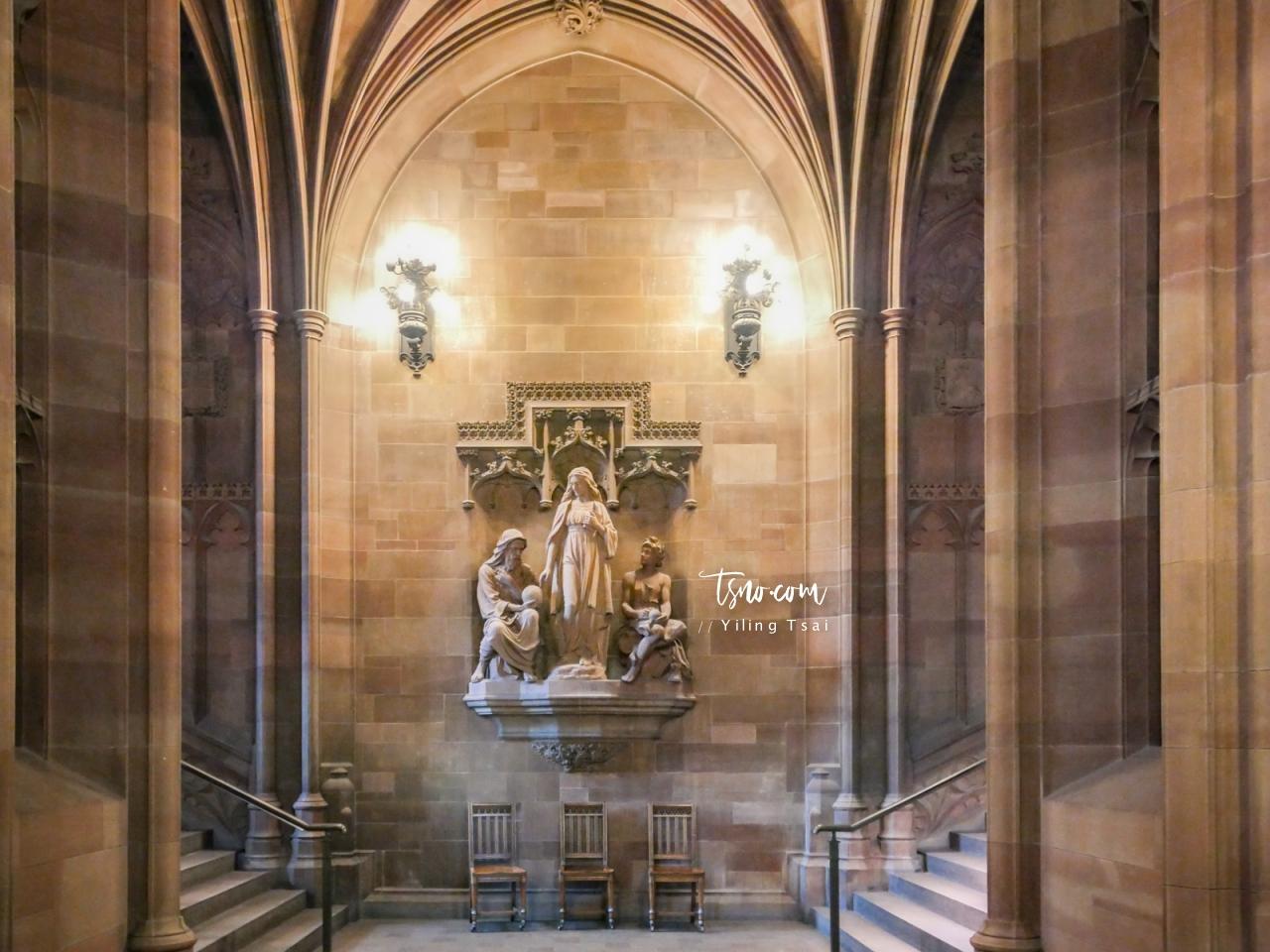英國曼徹斯特景點 The John Rylands Library 魔法世界圖書館巡禮