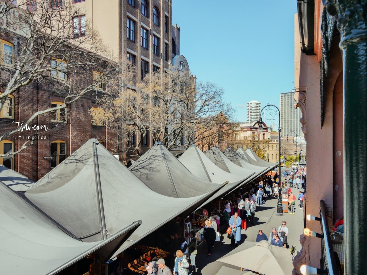 澳洲雪梨市集 The Rocks Markets 岩石區週末市集