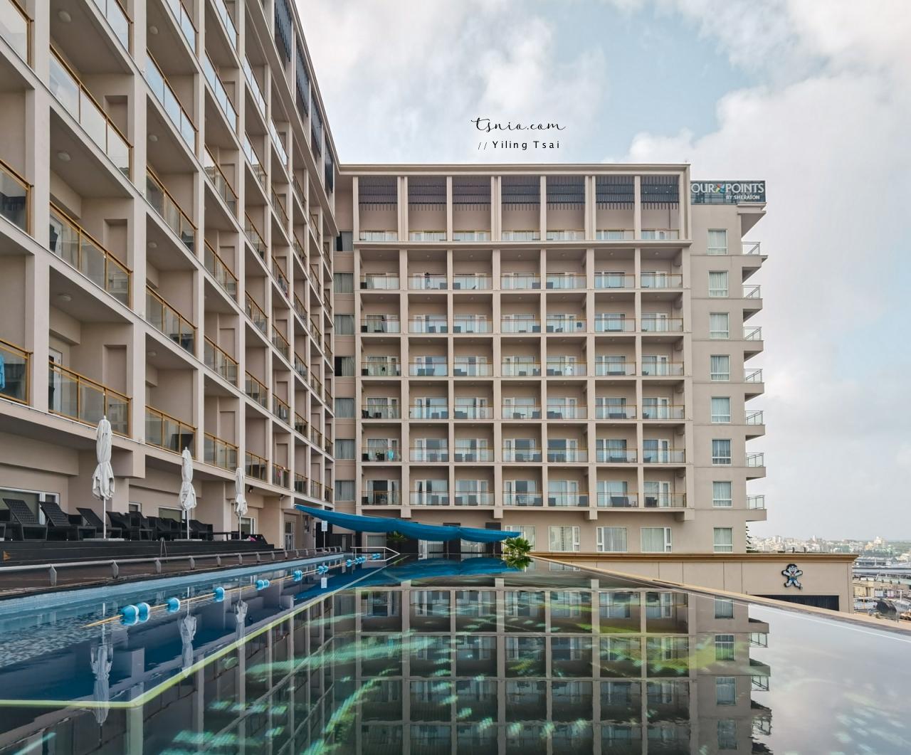 澎湖飯店推薦 福朋喜來登酒店 無邊際泳池海景飯店