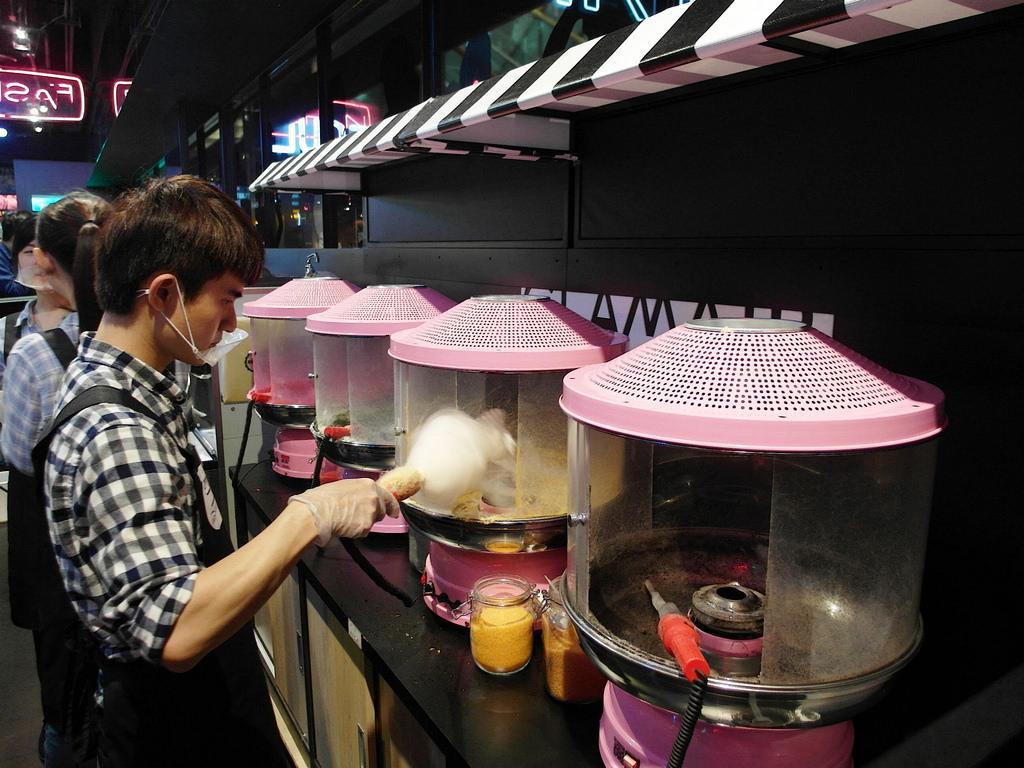 [台北 信義] 來自韓國的 GLAM AIR 棉花糖霜淇淋 信義新光A11夢幻甜點美食