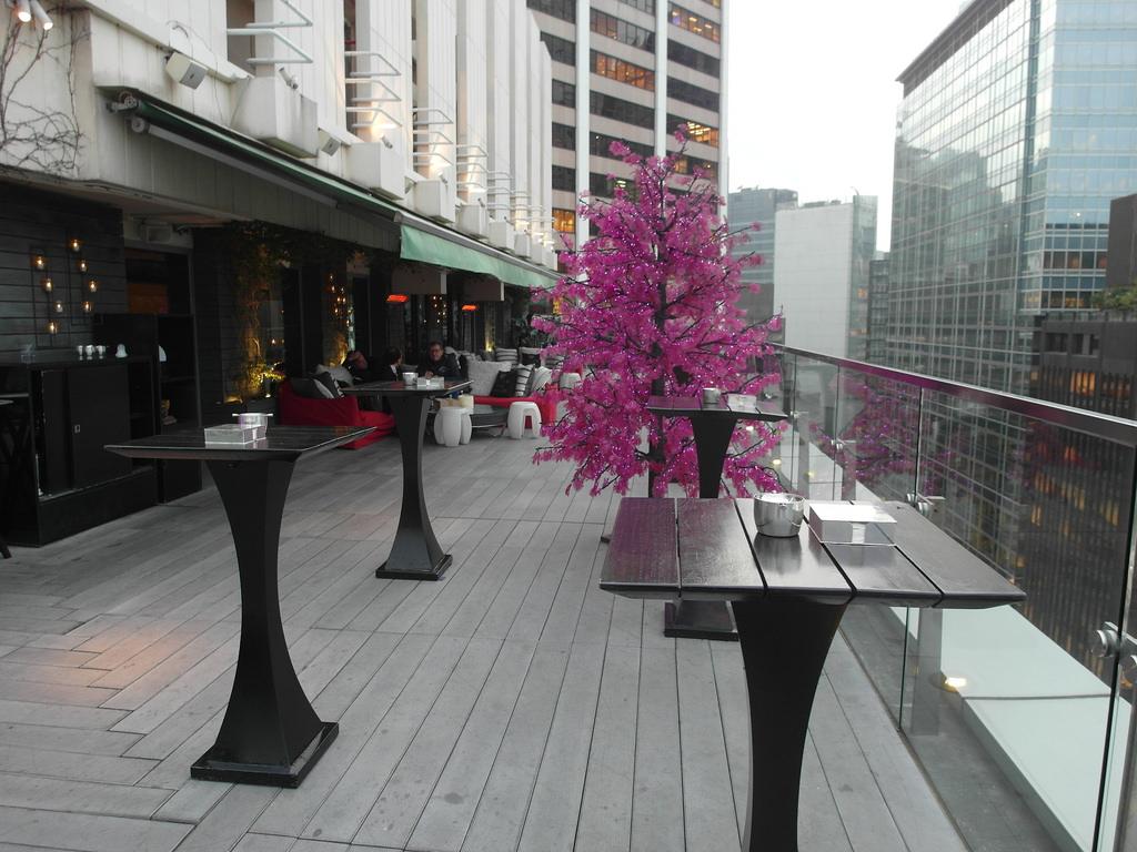 [香港 中環]  SEVVA 超美夜景 置身幻彩詠香江中