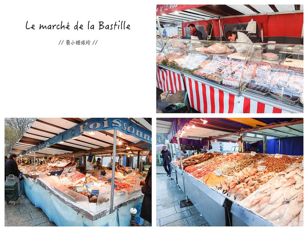 [法國 巴黎] 巴士底市集 Marché Bastille 巴黎必逛傳統美食市集