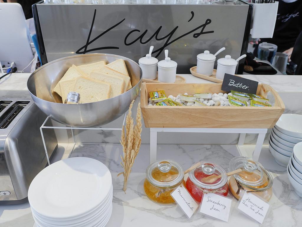 曼谷美食 Kay's Boutique Breakfast 純白時尚風早午餐下午茶