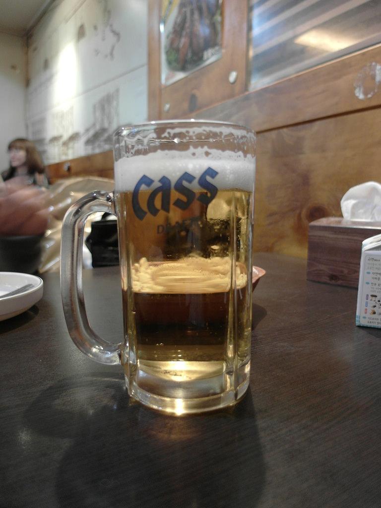 [韓國 首爾] 喝啤酒的好地方 two two 炸雞