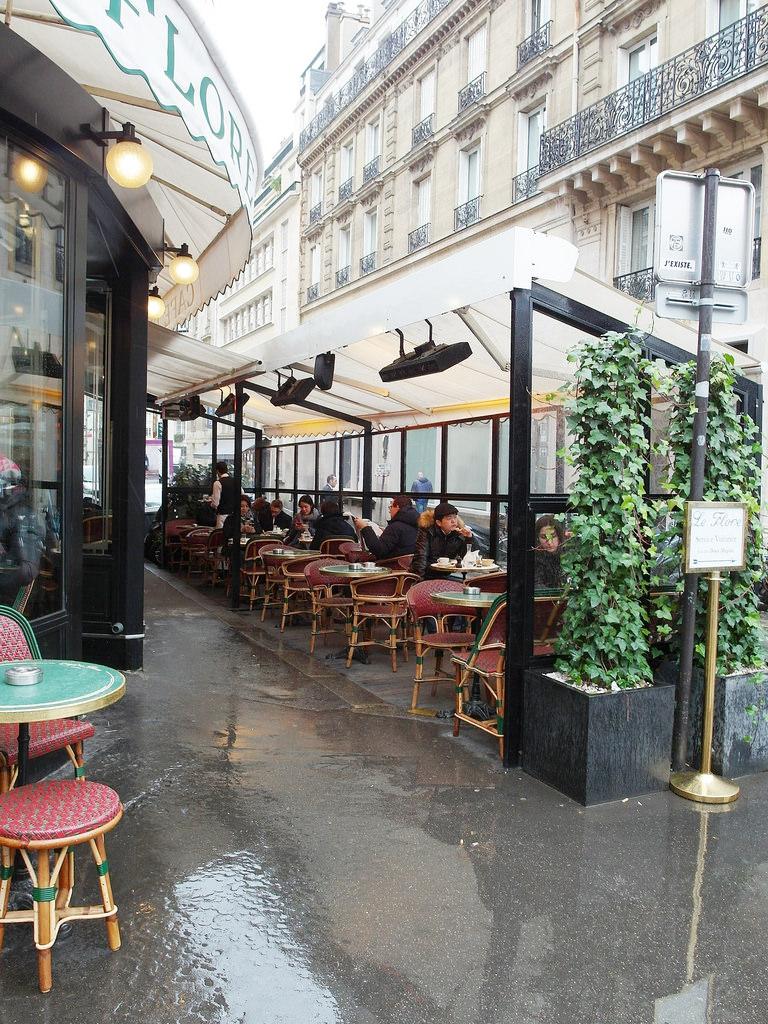 [法國 巴黎] 花神咖啡館 Cafe de Flore 在巴黎左岸喝咖啡 巴黎必吃咖啡廳