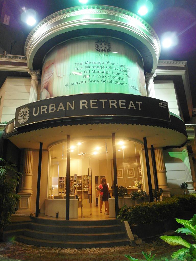 曼谷按摩推薦 Urban Retreat SPA 平價優質SPA享受