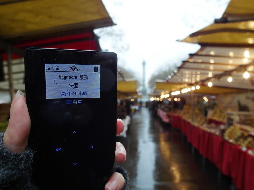 [歐洲] 飛租不可 歐洲跨國Wifi分享器租借 2016巴黎倫敦跨國自由行