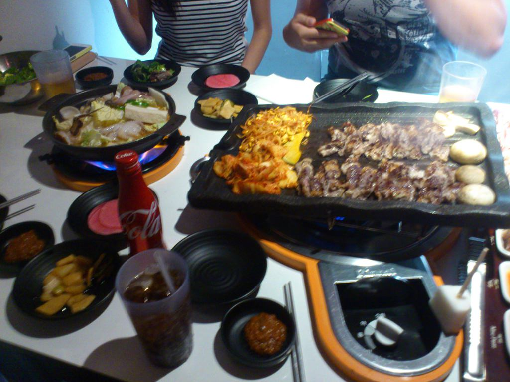 美國洛杉磯美食 Palsaik Korea BBQ 韓國八色五花肉